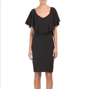 Dress The Population Delilah Ruffle Dress/S/NEW